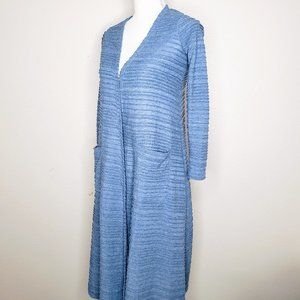 LuLaRoe Open Front Pocketed Long Sweater - XS
